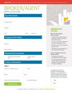 Ohio-Chamber-Broker-Application