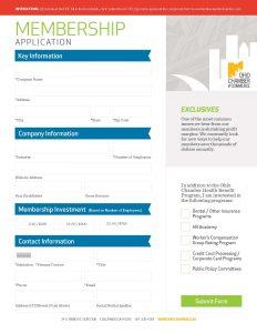 Ohio-Chamber-Membership-Application-Website
