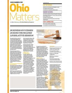 2016 July August OH Matters Issues
