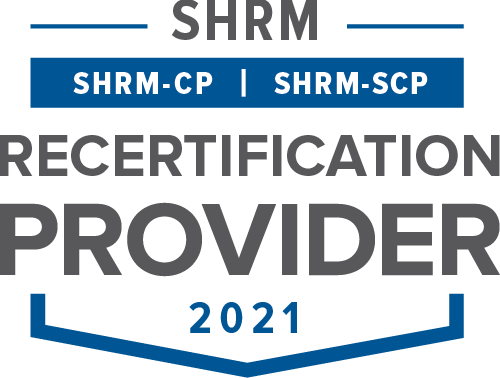 SHRM Recertification Provider Seal 2